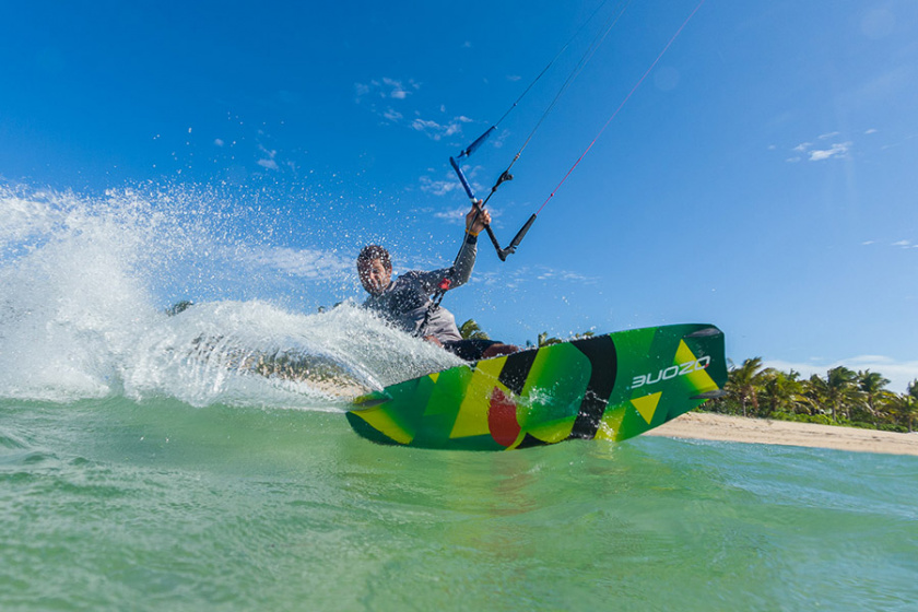 Tabla kitesurf Code